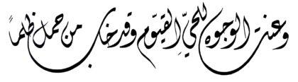 طه ٢٠ : ١١١