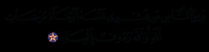 Al-Baqarah 2, 207