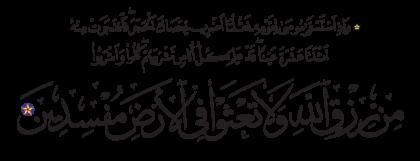 Al-Baqarah 2, 60