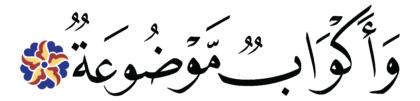 al-Ghāšiyah 88, 14