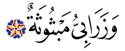 al-Ghāšiyah 88, 16