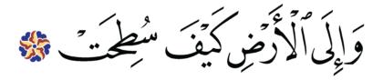 al-Ghāšiyah 88, 20