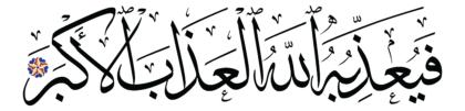 al-Ghāšiyah 88, 24