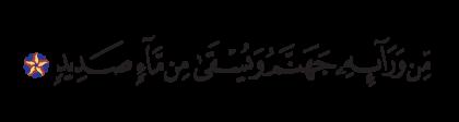 Ibrahim 14, 16