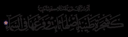 Ibrahim 14, 24