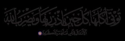 Ibrahim 14, 25
