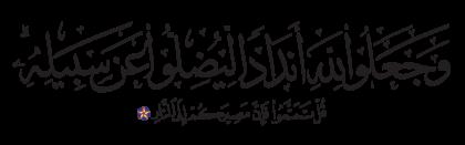 Ibrahim 14, 30