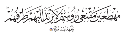 Ibrahim 14, 43