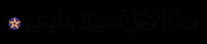 Al-Hijr 15, 53
