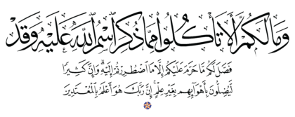 Al-An'am 6, 119
