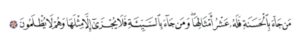 Al-An'am 6, 160