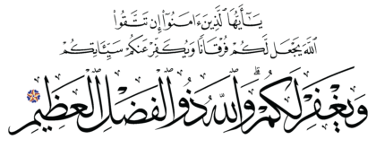 Al-Anfal 8, 29