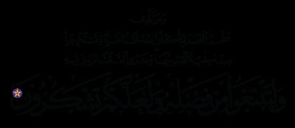 Al-Nahl 16, 14