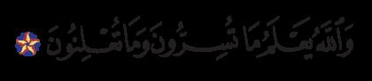 Al-Nahl 16, 19