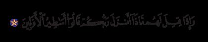 Al-Nahl 16, 24