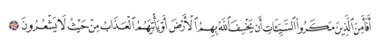 Al-Nahl 16, 45