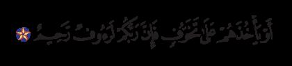 Al-Nahl 16, 47