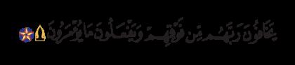 Al-Nahl 16, 50