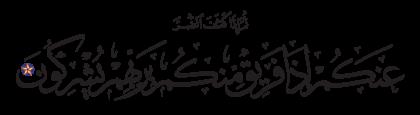 Al-Nahl 16, 54