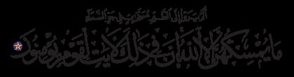 Al-Nahl 16, 79