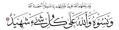 Al-Mujadilah 58, 6
