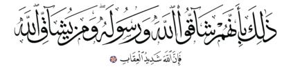 Al-Hashr 59, 4