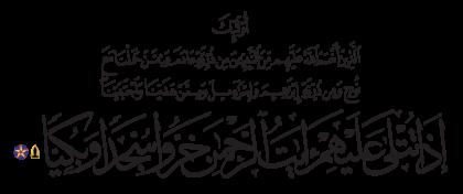 Maryam 19, 58