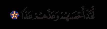Maryam 19, 94