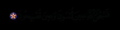 Al-Rum 30, 17