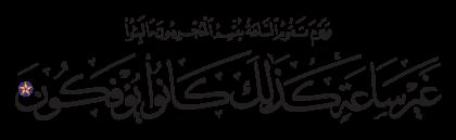 Al-Rum 30, 55