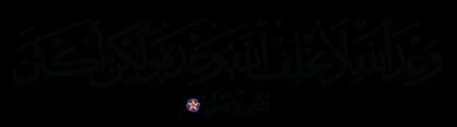 Al-Rum 30, 6