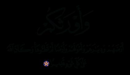 Al-Ahzab 33, 27