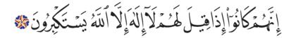 Al-Saffat 37, 35