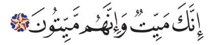 Al-Zumar 39, 30