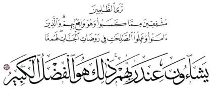 Al-Shura 42, 22