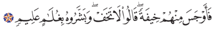 Al-Dhariyat 51, 28