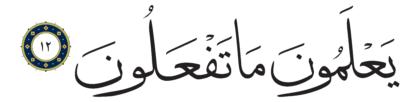 Al-Infitar 82, 12