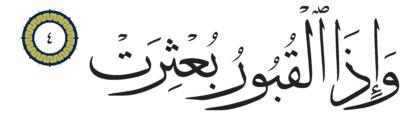 Al-Infitar 82, 4