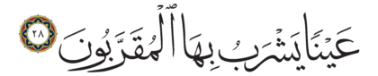 Al-Mutaffifîn 83, 28