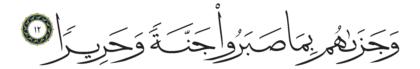Al-Insan 76, 12