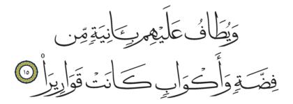Al-Insan 76, 15
