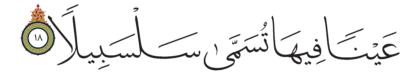 Al-Insan 76, 18
