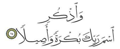Al-Insan 76, 25