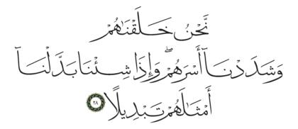 Al-Insan 76, 28