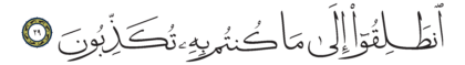 Al-Mursalat 77, 29
