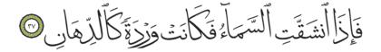 37 ،55 الرحمن