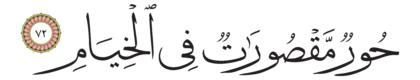 72 ،55 الرحمن