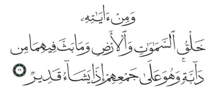 Al-Shura 42, 29