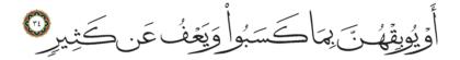 Al-Shura 42, 34