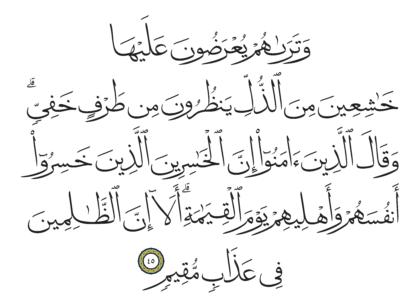Al-Shura 42, 45